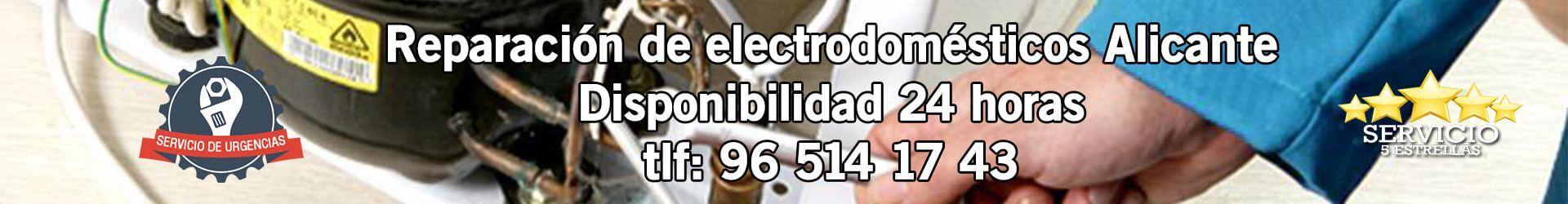 Reparación de Electrodomésticos Alicante